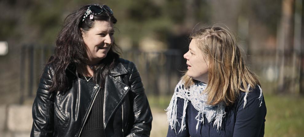 _DSC0964. Ylva Larsson,Elsa Kjellander