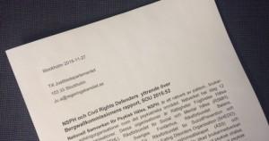 Bild Bergwallrapporten smalare